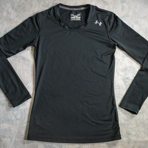 Under Armour Fitted Heatgear L/S Elastane-Blend